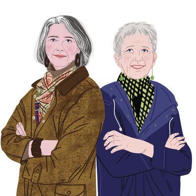 Ann Cleaves and Louise Penny